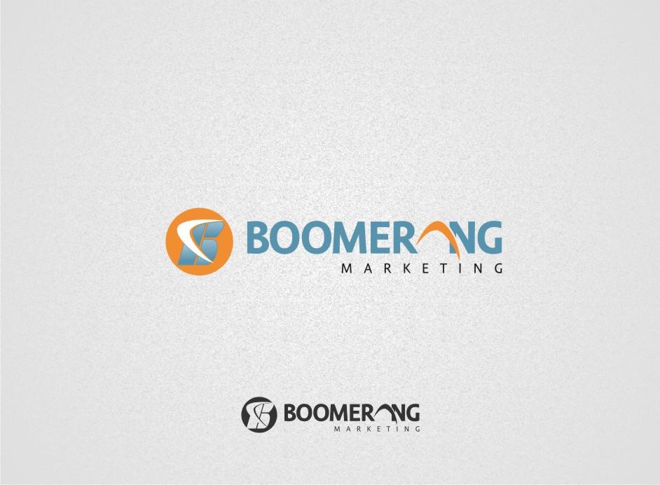 Logo Design by Muhammad Nasrul chasib - Entry No. 10 in the Logo Design Contest Unique Logo Design Wanted for Boomerang Marketing.