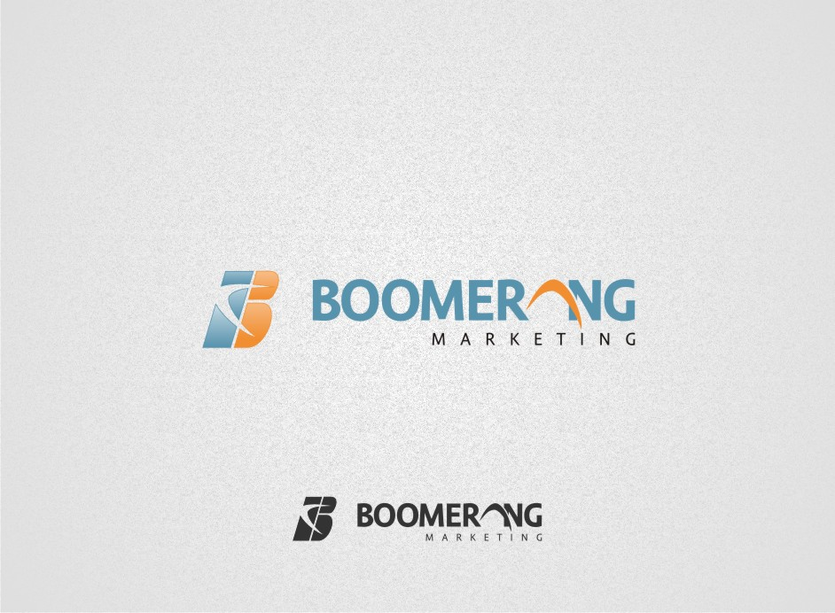 Logo Design by graphicleaf - Entry No. 11 in the Logo Design Contest Unique Logo Design Wanted for Boomerang Marketing.