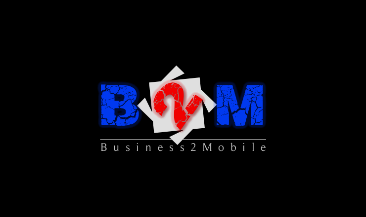 Logo Design by Rameez Zia - Entry No. 54 in the Logo Design Contest Logo Design Needed for Exciting New Company Business2Mobile - B2M.