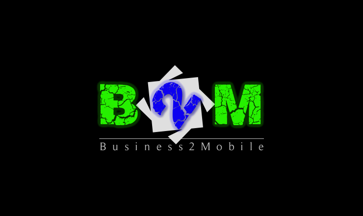 Logo Design by Rameez Zia - Entry No. 55 in the Logo Design Contest Logo Design Needed for Exciting New Company Business2Mobile - B2M.