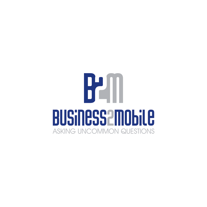 Logo Design by Private User - Entry No. 59 in the Logo Design Contest Logo Design Needed for Exciting New Company Business2Mobile - B2M.