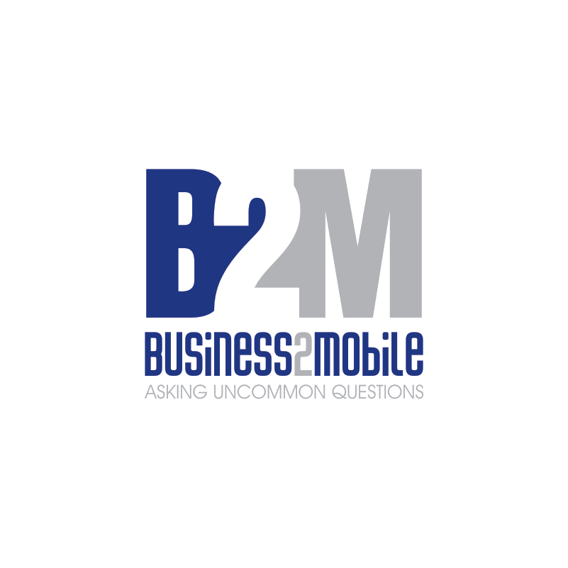 Logo Design by Private User - Entry No. 60 in the Logo Design Contest Logo Design Needed for Exciting New Company Business2Mobile - B2M.