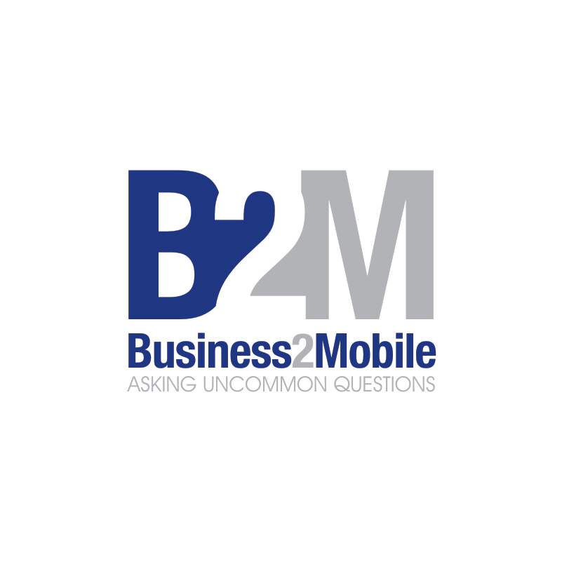 Logo Design by Private User - Entry No. 61 in the Logo Design Contest Logo Design Needed for Exciting New Company Business2Mobile - B2M.