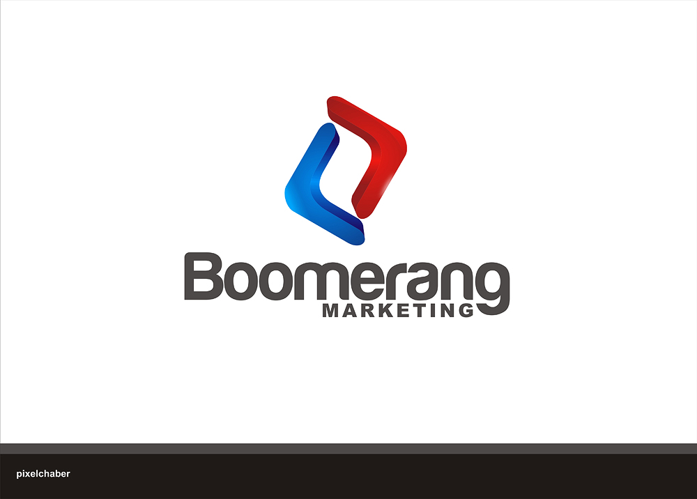 Logo Design by Julius Niro - Entry No. 14 in the Logo Design Contest Unique Logo Design Wanted for Boomerang Marketing.