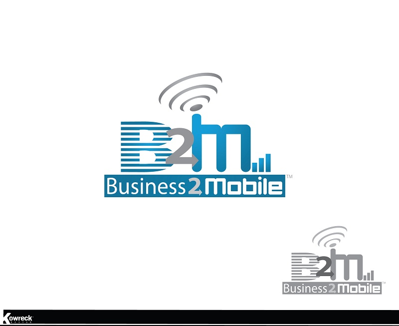 Logo Design by kowreck - Entry No. 65 in the Logo Design Contest Logo Design Needed for Exciting New Company Business2Mobile - B2M.