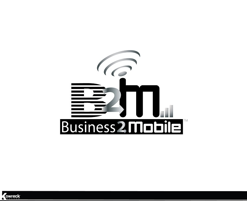 Logo Design by kowreck - Entry No. 66 in the Logo Design Contest Logo Design Needed for Exciting New Company Business2Mobile - B2M.