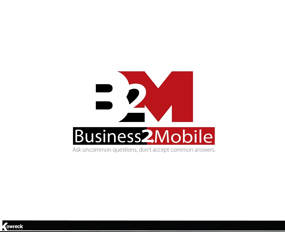 Logo Design by kowreck - Entry No. 67 in the Logo Design Contest Logo Design Needed for Exciting New Company Business2Mobile - B2M.