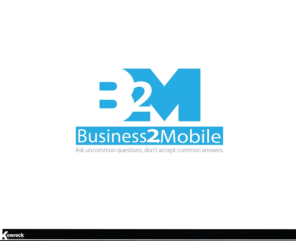 Logo Design by kowreck - Entry No. 68 in the Logo Design Contest Logo Design Needed for Exciting New Company Business2Mobile - B2M.
