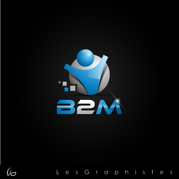 Logo Design by Les-Graphistes - Entry No. 82 in the Logo Design Contest Logo Design Needed for Exciting New Company Business2Mobile - B2M.