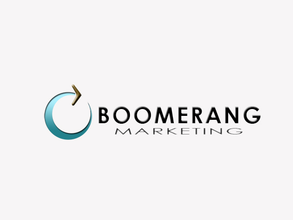 Logo Design by Mythos Designs - Entry No. 19 in the Logo Design Contest Unique Logo Design Wanted for Boomerang Marketing.