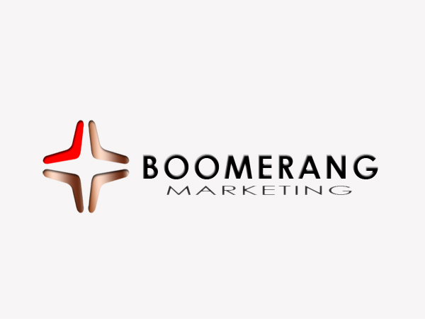 Logo Design by Mythos Designs - Entry No. 20 in the Logo Design Contest Unique Logo Design Wanted for Boomerang Marketing.