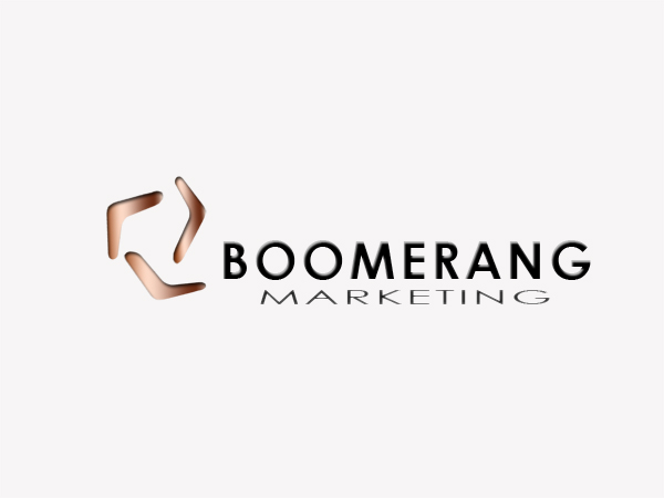 Logo Design by Mythos Designs - Entry No. 21 in the Logo Design Contest Unique Logo Design Wanted for Boomerang Marketing.