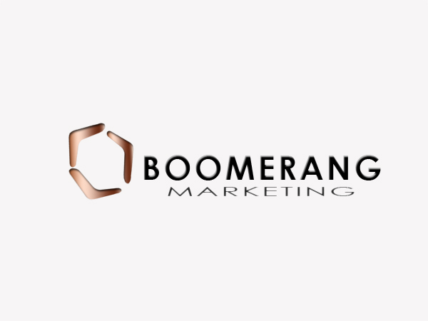 Logo Design by Mythos Designs - Entry No. 22 in the Logo Design Contest Unique Logo Design Wanted for Boomerang Marketing.