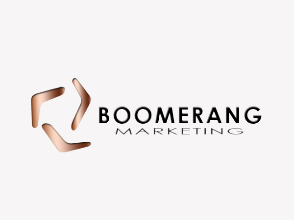 Logo Design by Mythos Designs - Entry No. 23 in the Logo Design Contest Unique Logo Design Wanted for Boomerang Marketing.