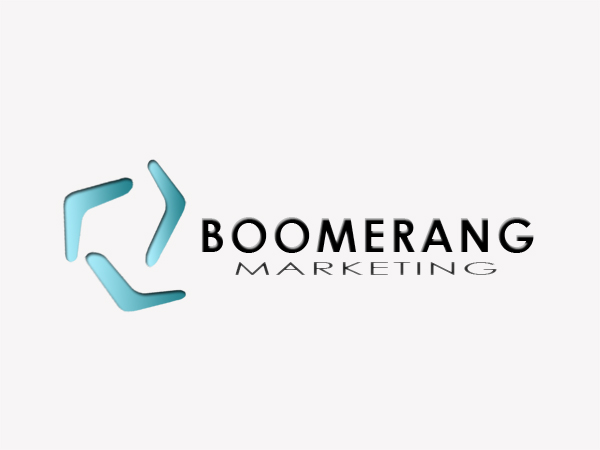 Logo Design by Mythos Designs - Entry No. 24 in the Logo Design Contest Unique Logo Design Wanted for Boomerang Marketing.