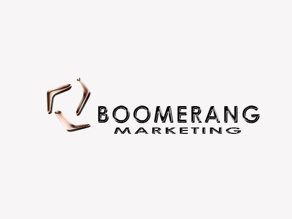 Logo Design by Mythos Designs - Entry No. 25 in the Logo Design Contest Unique Logo Design Wanted for Boomerang Marketing.