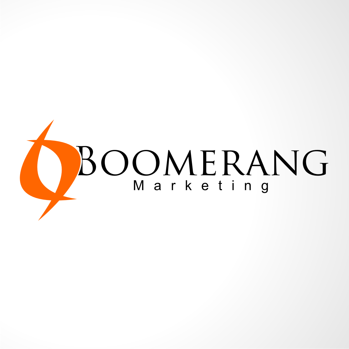 Logo Design by A Rizkiyanto Amir - Entry No. 27 in the Logo Design Contest Unique Logo Design Wanted for Boomerang Marketing.