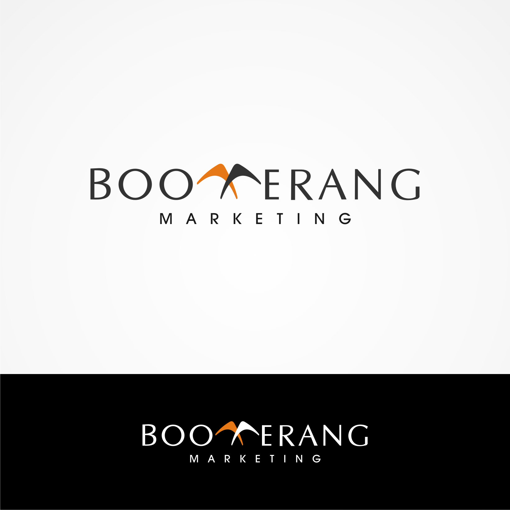 Logo Design by Private User - Entry No. 28 in the Logo Design Contest Unique Logo Design Wanted for Boomerang Marketing.