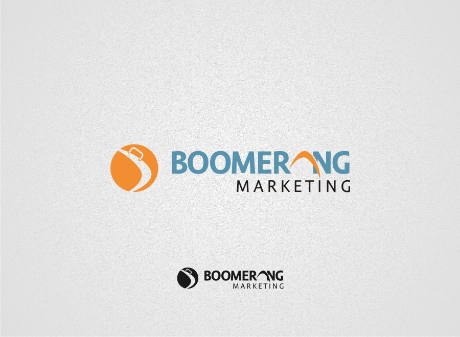 Logo Design by graphicleaf - Entry No. 29 in the Logo Design Contest Unique Logo Design Wanted for Boomerang Marketing.