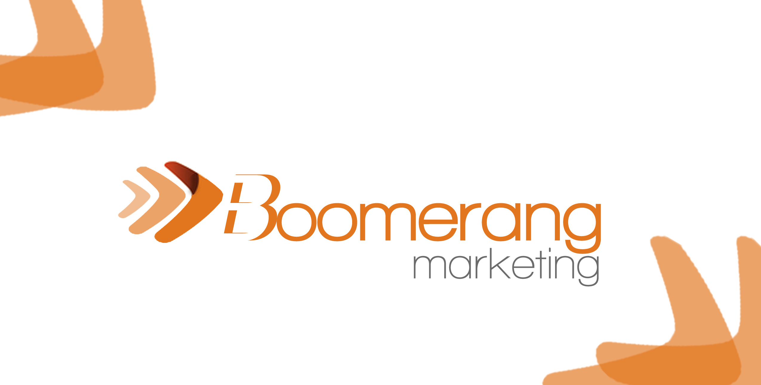Logo Design by Lama Creative - Entry No. 30 in the Logo Design Contest Unique Logo Design Wanted for Boomerang Marketing.