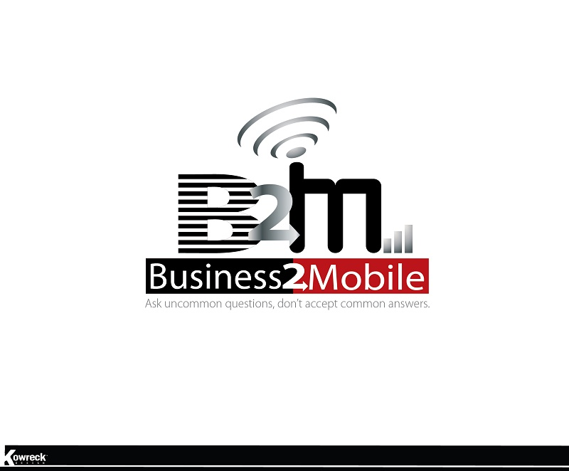 Logo Design by kowreck - Entry No. 91 in the Logo Design Contest Logo Design Needed for Exciting New Company Business2Mobile - B2M.