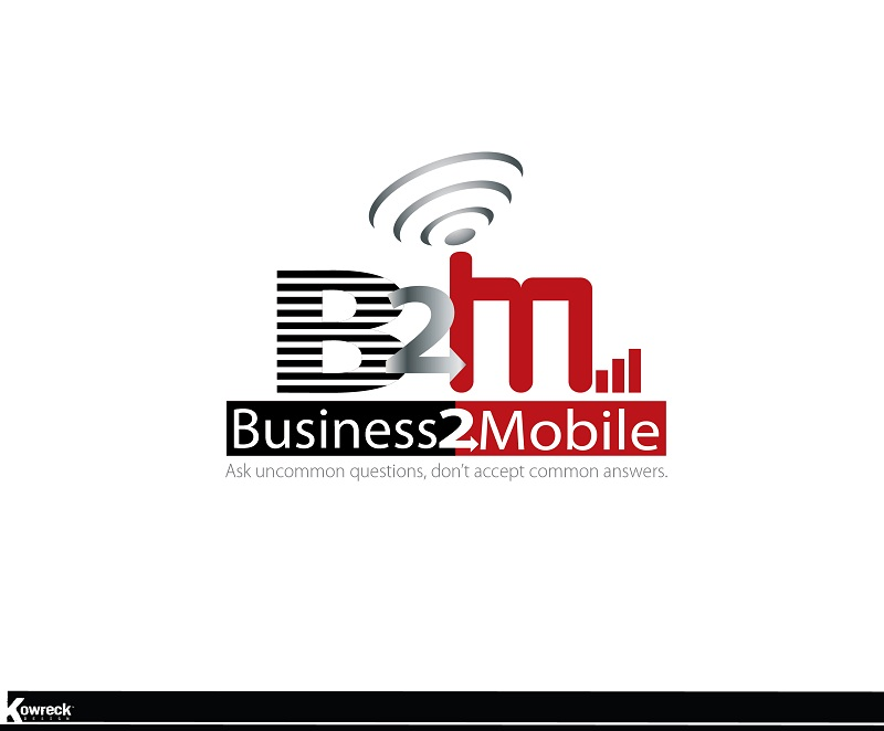 Logo Design by kowreck - Entry No. 92 in the Logo Design Contest Logo Design Needed for Exciting New Company Business2Mobile - B2M.