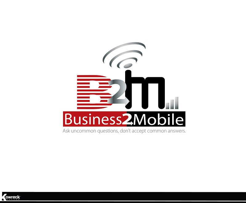 Logo Design by kowreck - Entry No. 93 in the Logo Design Contest Logo Design Needed for Exciting New Company Business2Mobile - B2M.