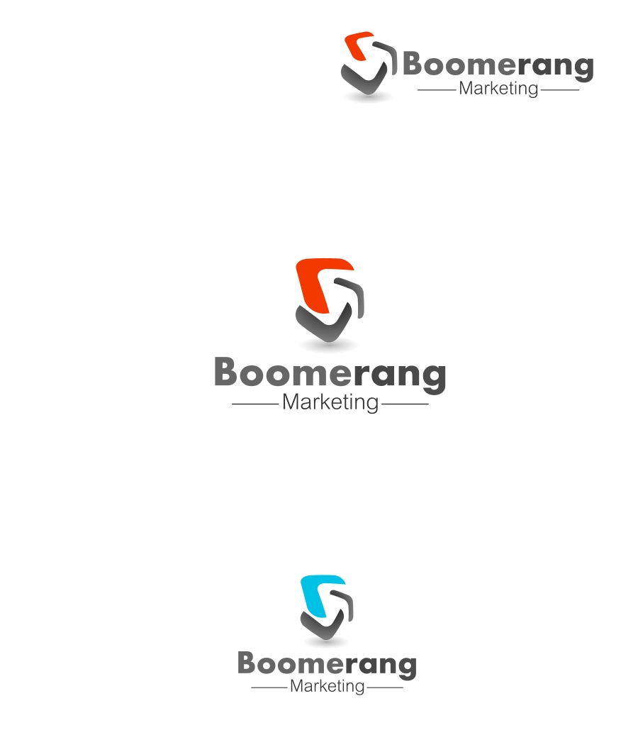 Logo Design by Private User - Entry No. 33 in the Logo Design Contest Unique Logo Design Wanted for Boomerang Marketing.