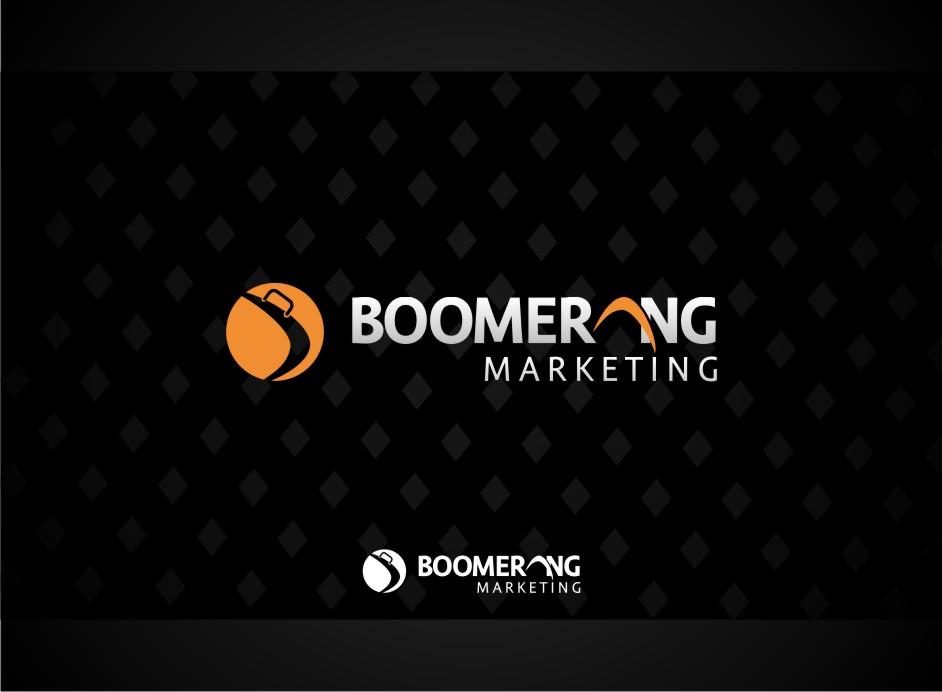 Logo Design by Muhammad Nasrul chasib - Entry No. 34 in the Logo Design Contest Unique Logo Design Wanted for Boomerang Marketing.