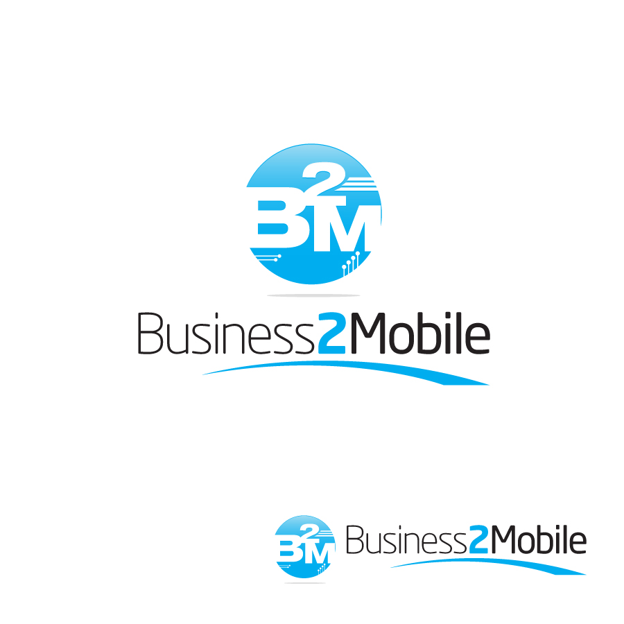 Logo Design by Edward Goodwin - Entry No. 96 in the Logo Design Contest Logo Design Needed for Exciting New Company Business2Mobile - B2M.