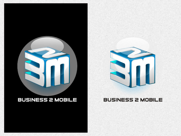 Logo Design by graphicleaf - Entry No. 99 in the Logo Design Contest Logo Design Needed for Exciting New Company Business2Mobile - B2M.