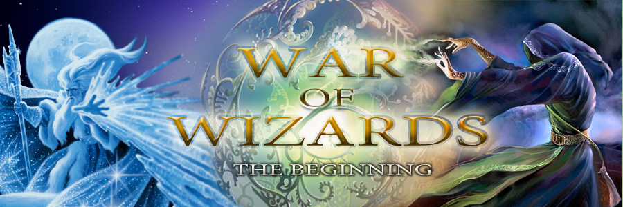 Banner Ad Design by kowreck - Entry No. 79 in the Banner Ad Design Contest Banner Ad Design - War of Wizards (fantasy game).