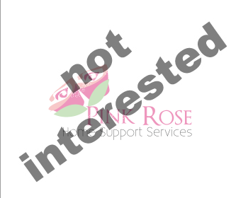 Logo Design by chandi - Entry No. 53 in the Logo Design Contest Pink Rose Home Support Services.
