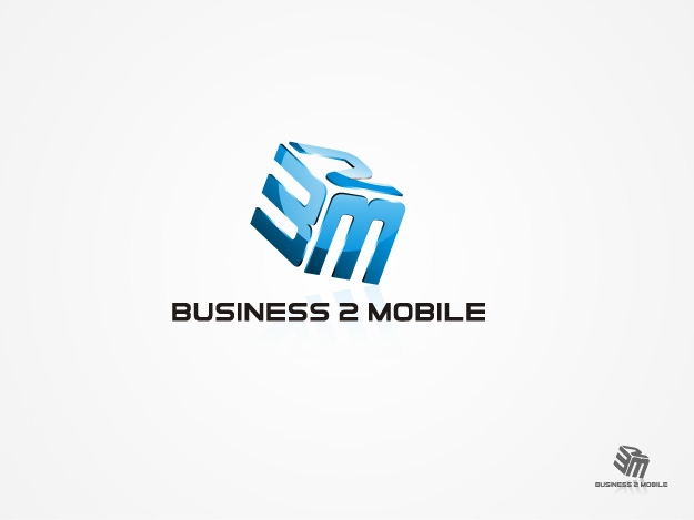 Logo Design by graphicleaf - Entry No. 102 in the Logo Design Contest Logo Design Needed for Exciting New Company Business2Mobile - B2M.