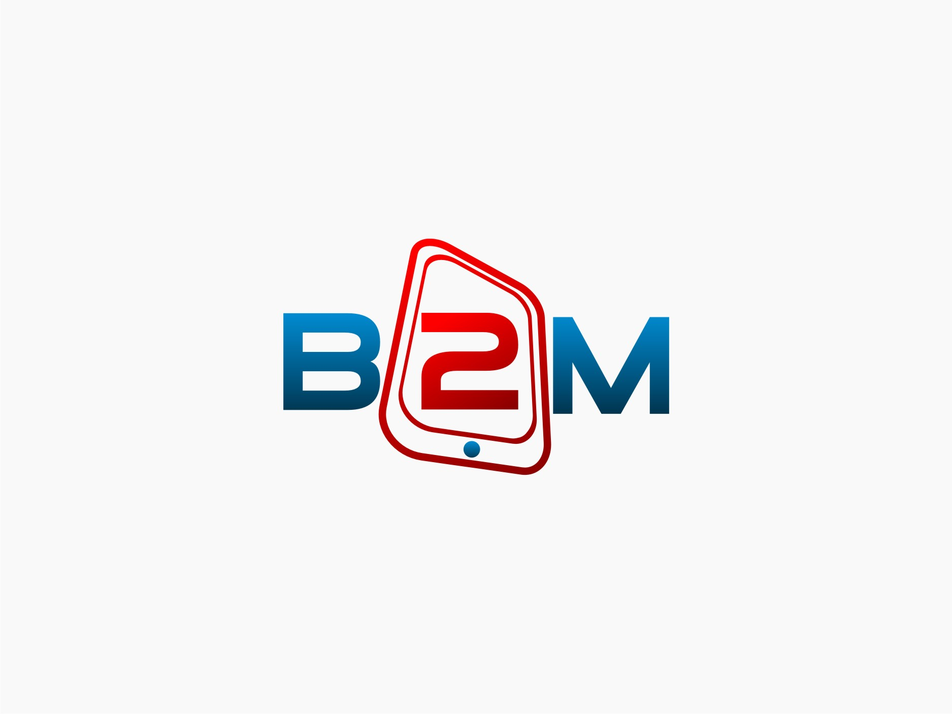 Logo Design by graphicleaf - Entry No. 103 in the Logo Design Contest Logo Design Needed for Exciting New Company Business2Mobile - B2M.