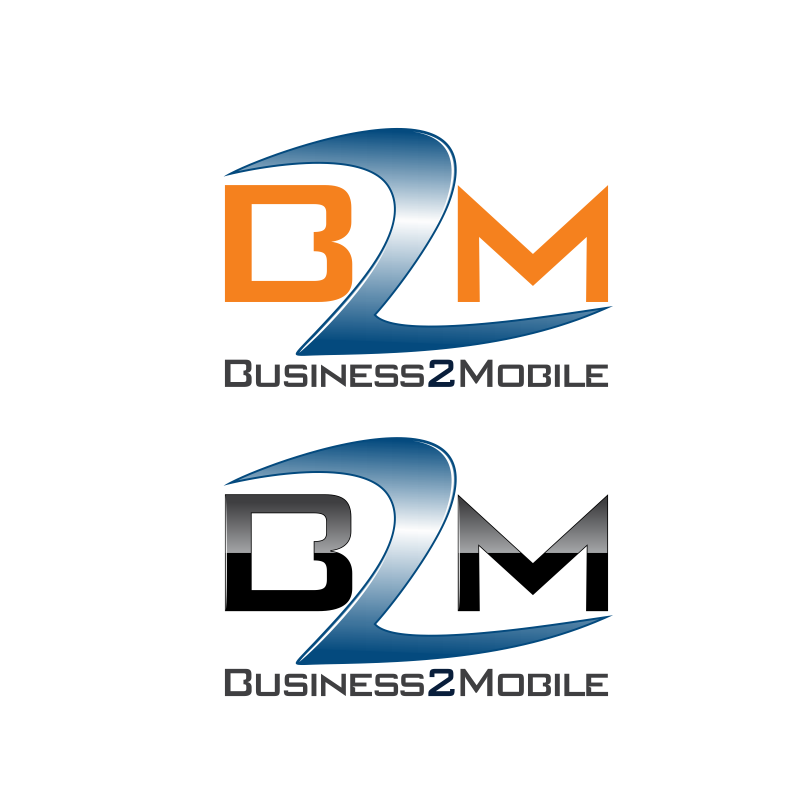 Logo Design by moisesf - Entry No. 106 in the Logo Design Contest Logo Design Needed for Exciting New Company Business2Mobile - B2M.