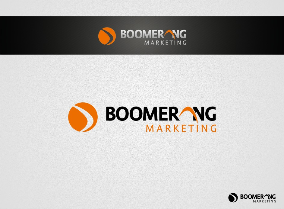 Logo Design by graphicleaf - Entry No. 41 in the Logo Design Contest Unique Logo Design Wanted for Boomerang Marketing.