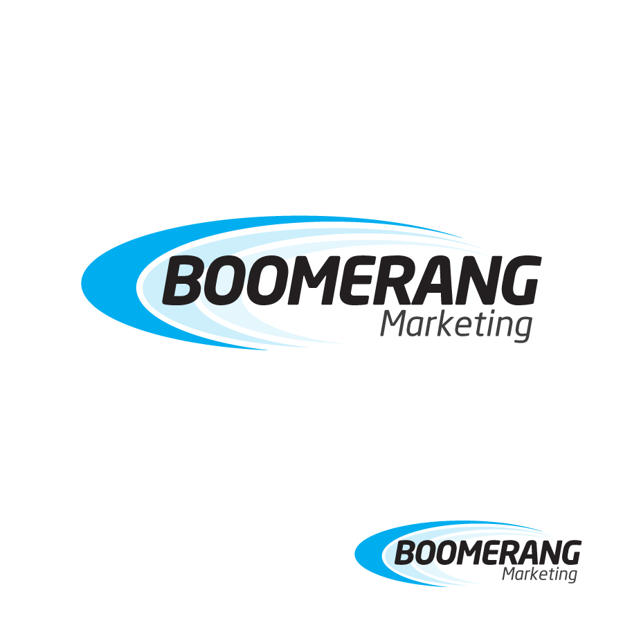 Logo Design by Edward Goodwin - Entry No. 42 in the Logo Design Contest Unique Logo Design Wanted for Boomerang Marketing.