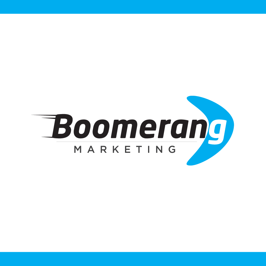 Logo Design by Edward Goodwin - Entry No. 45 in the Logo Design Contest Unique Logo Design Wanted for Boomerang Marketing.
