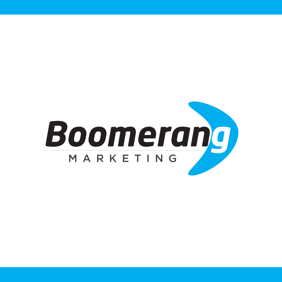 Logo Design by Edward Goodwin - Entry No. 46 in the Logo Design Contest Unique Logo Design Wanted for Boomerang Marketing.