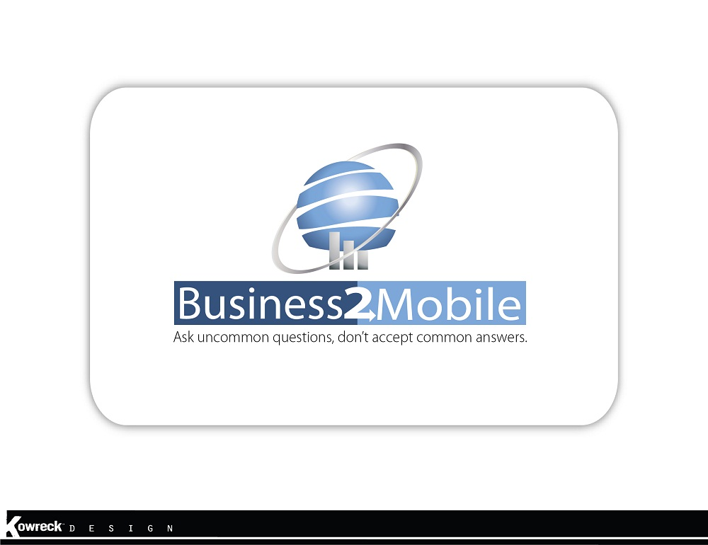 Logo Design by kowreck - Entry No. 112 in the Logo Design Contest Logo Design Needed for Exciting New Company Business2Mobile - B2M.
