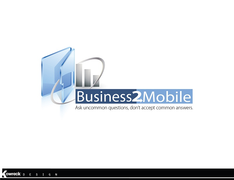 Logo Design by kowreck - Entry No. 114 in the Logo Design Contest Logo Design Needed for Exciting New Company Business2Mobile - B2M.