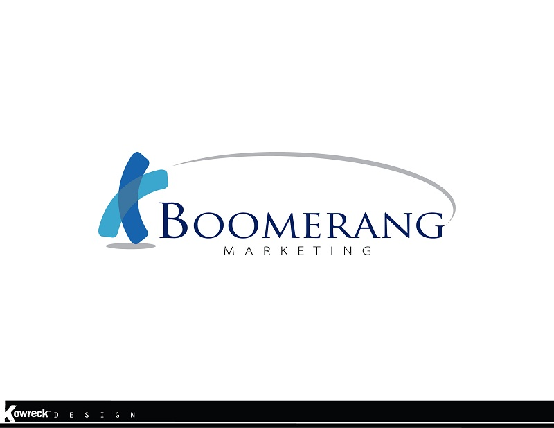 Logo Design by kowreck - Entry No. 48 in the Logo Design Contest Unique Logo Design Wanted for Boomerang Marketing.