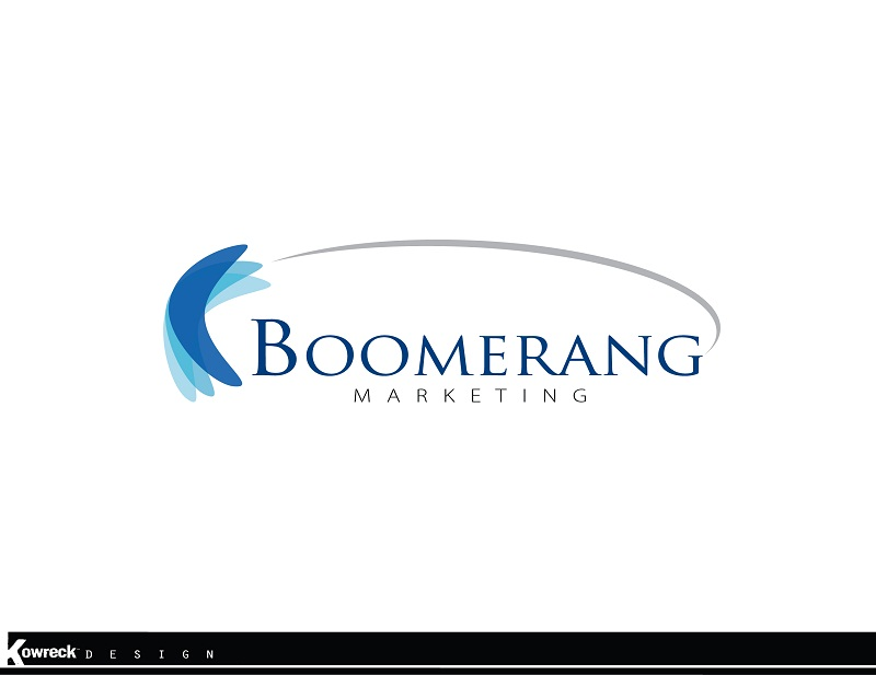 Logo Design by kowreck - Entry No. 49 in the Logo Design Contest Unique Logo Design Wanted for Boomerang Marketing.