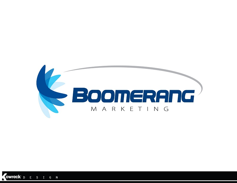 Logo Design by kowreck - Entry No. 50 in the Logo Design Contest Unique Logo Design Wanted for Boomerang Marketing.
