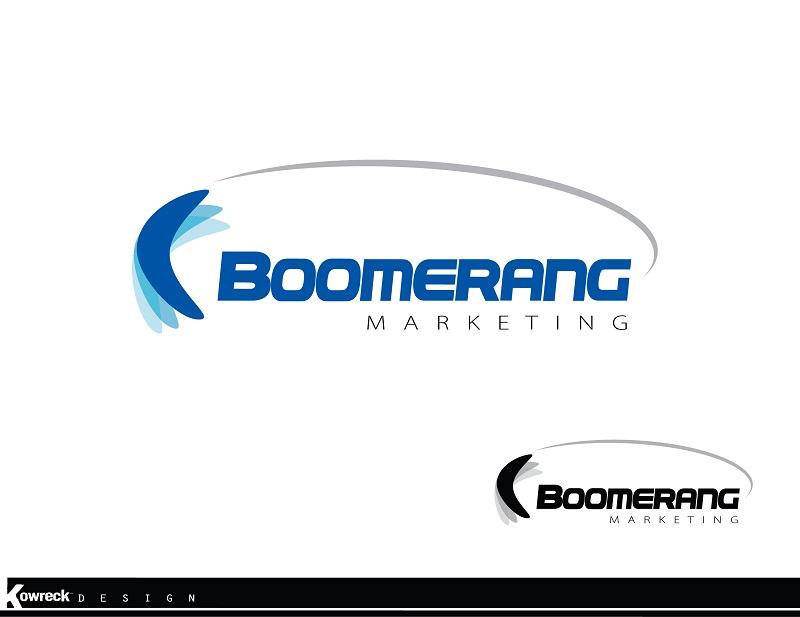 Logo Design by kowreck - Entry No. 55 in the Logo Design Contest Unique Logo Design Wanted for Boomerang Marketing.