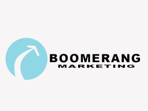Logo Design by Mythos Designs - Entry No. 57 in the Logo Design Contest Unique Logo Design Wanted for Boomerang Marketing.