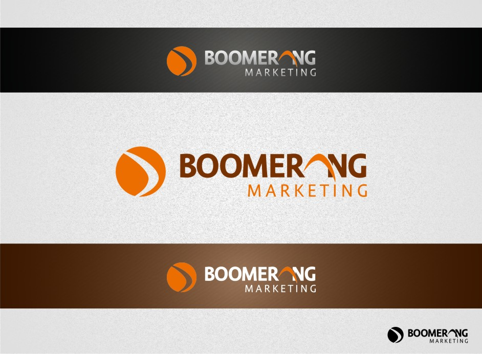Logo Design by graphicleaf - Entry No. 58 in the Logo Design Contest Unique Logo Design Wanted for Boomerang Marketing.