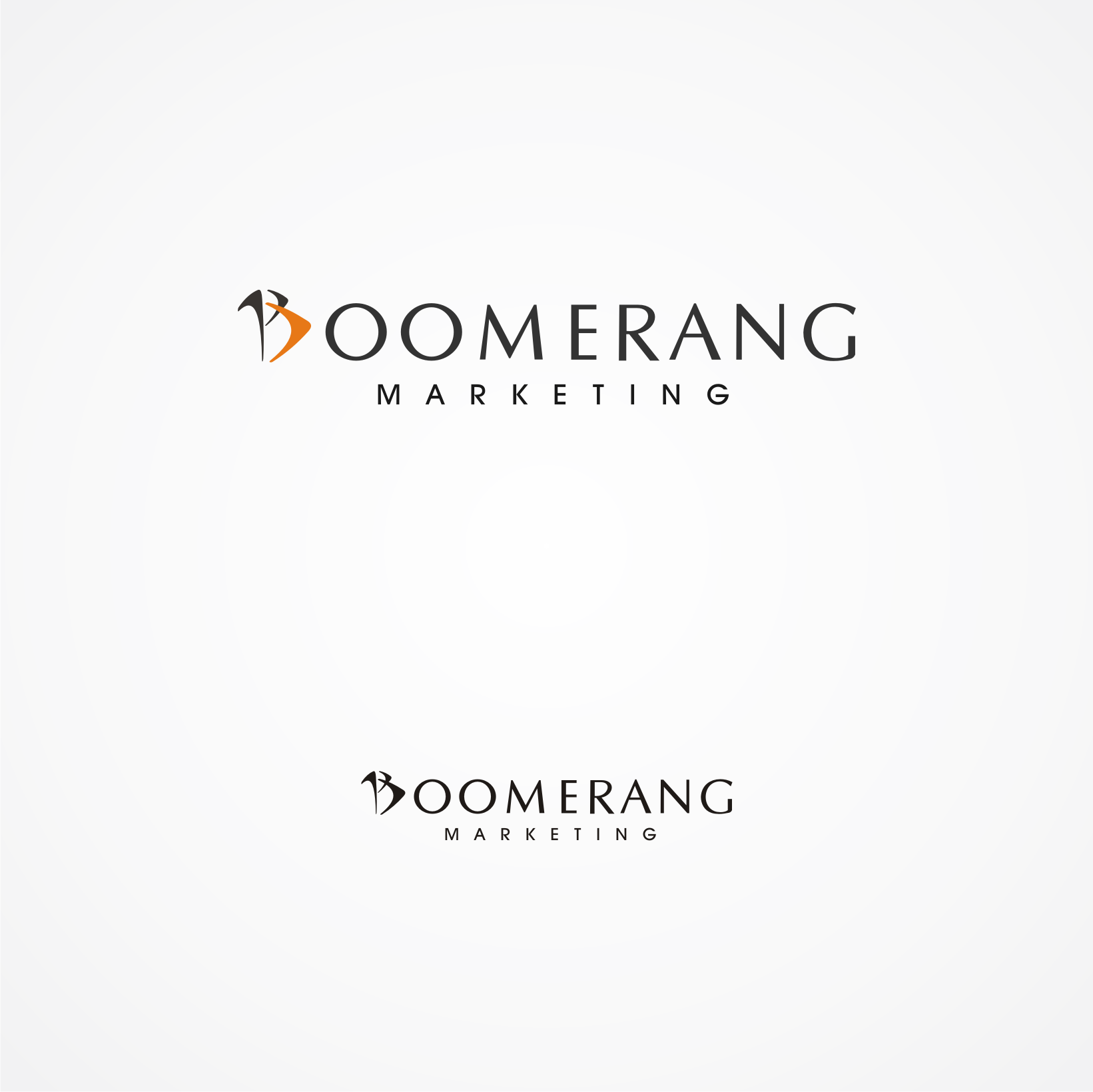Logo Design by Private User - Entry No. 64 in the Logo Design Contest Unique Logo Design Wanted for Boomerang Marketing.
