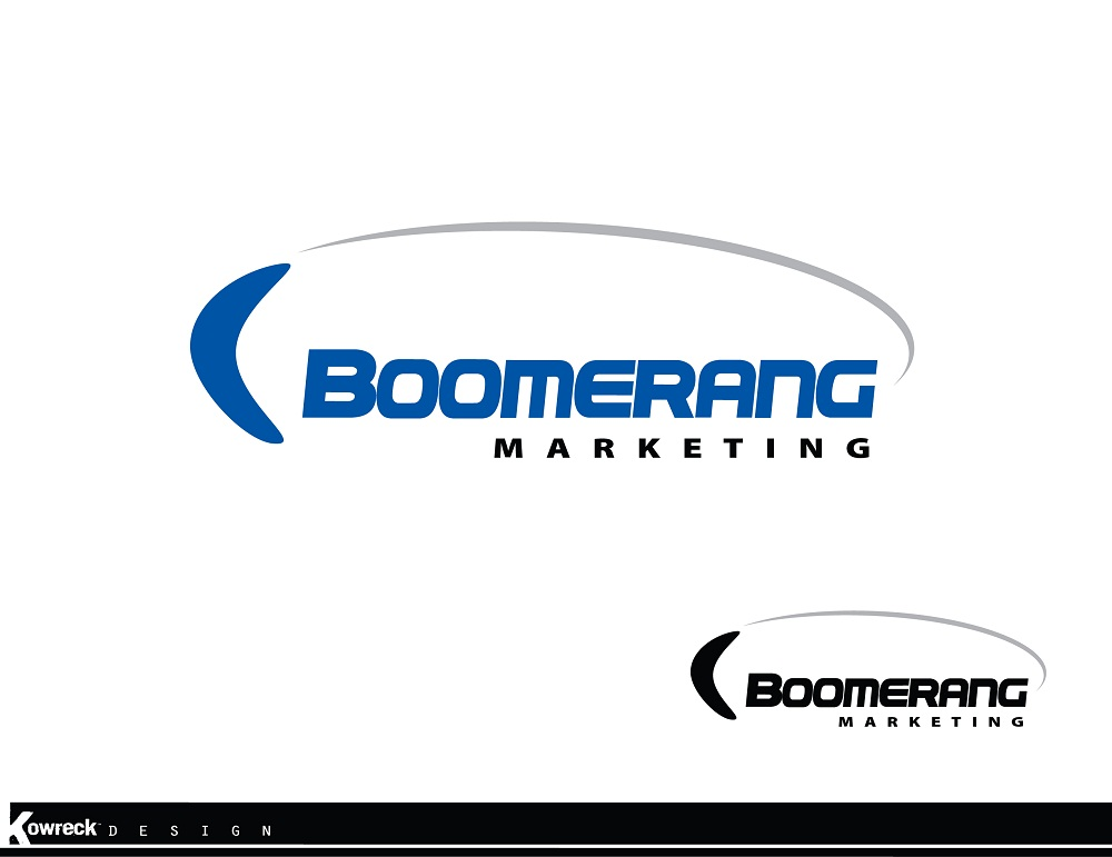 Logo Design by kowreck - Entry No. 65 in the Logo Design Contest Unique Logo Design Wanted for Boomerang Marketing.